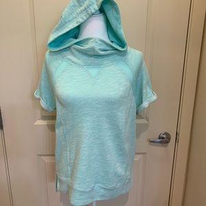 Pretty Turquoise Swearshirt M